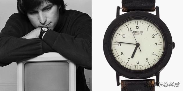 乔布斯不怎么戴手表,流传最多的是他年轻时候带着日本精工手表这张照片