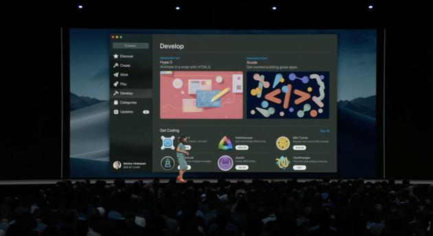 macOS更新应用商店
