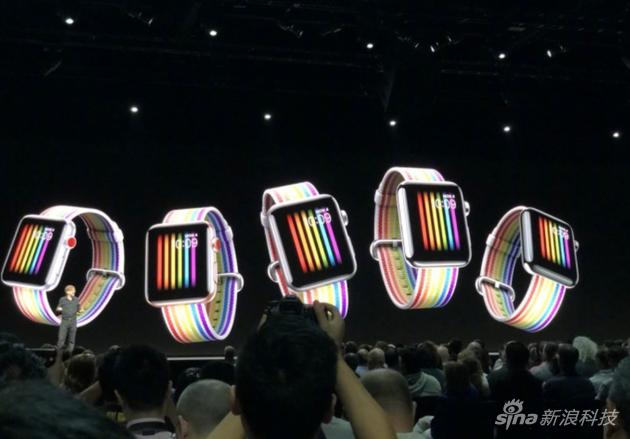 Apple Watch彩虹表带和彩虹表盘