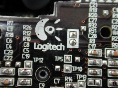 罗技g25手排档电路板
