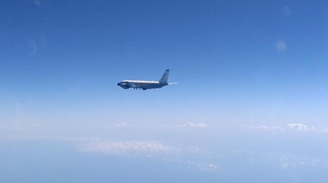 一周内第4次:俄苏-27战机升空在黑海拦截美军侦察机