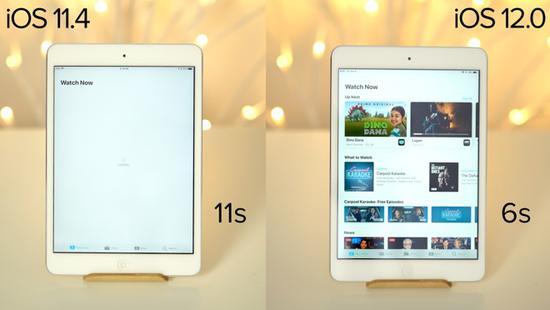 iOS 12能为旧机型续命?对比实测告诉你