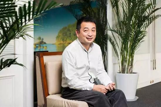 携程联合创始人兼董事长梁建章(摄影:吴俊杰)