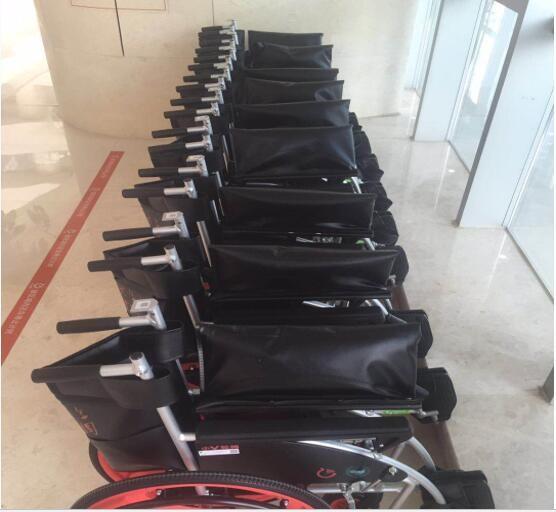 共享轮椅在杭州现身 支付宝微信扫码1小时或2小时内免费