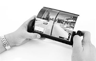 加拿大女王大学推出拥有柔性显示屏的平板电脑耐粱。图片来源坟:物理学家组织网