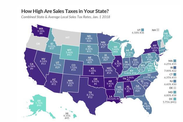 美国电商步入全面征税时代:线上线下公平竞争