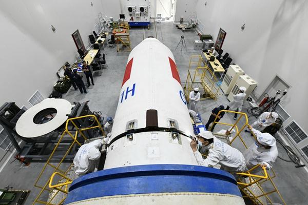 长征十一号火箭的研制过程(史啸 摄)