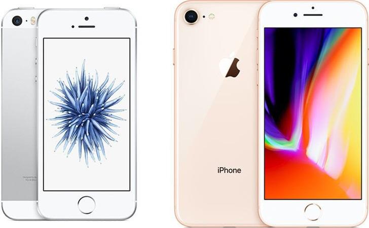 iPhoneSE和iPhone 8