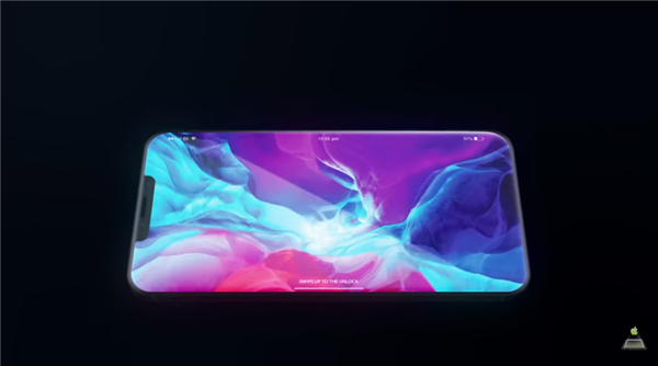 iPhone 12 Pro最新渲染图曝光:扁平中框+小刘海