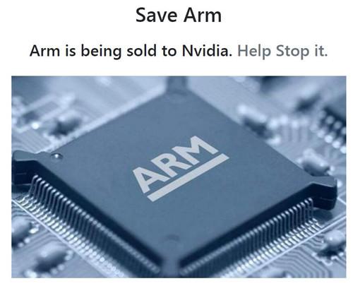 "Arm联合创始人Hauser创建""救救Arm""网站 反对英伟达收购"