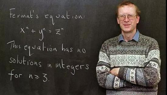 数学家安德鲁・怀尔斯(图片来源: 百度图片)