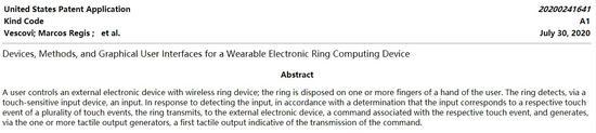 """苹果申请 """"苹果指环""""专利:可操控Mac和其他设备"""