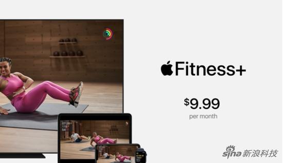 Fitness+定价9.99美元每月