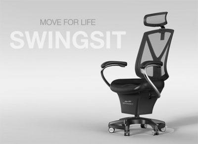 一个让你身体自由活动的座椅