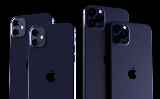 iPhone 12系列渲染图