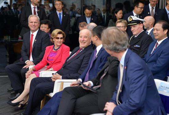 马云对话挪威国王王后-引进三文鱼 更要联手保护海洋 证券配资