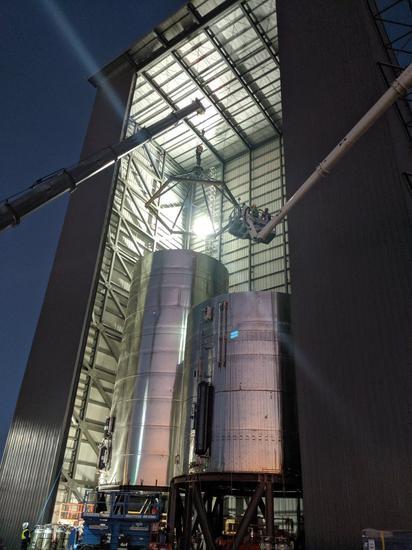 SpaceX星舰原型机压力测试又失败,或因试验配置