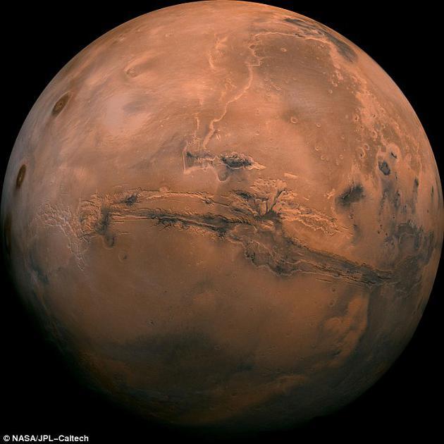 远古火星地下可能具备生命繁衍生长的完美条