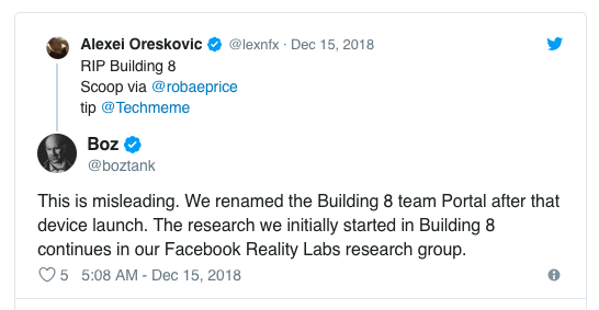 <strong>再见Building 8:Facebook重组其</strong>