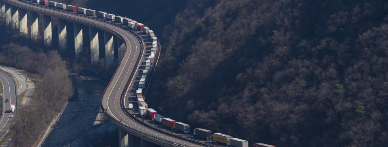 奥地利意大利边境的布伦纳山口。图源:salto